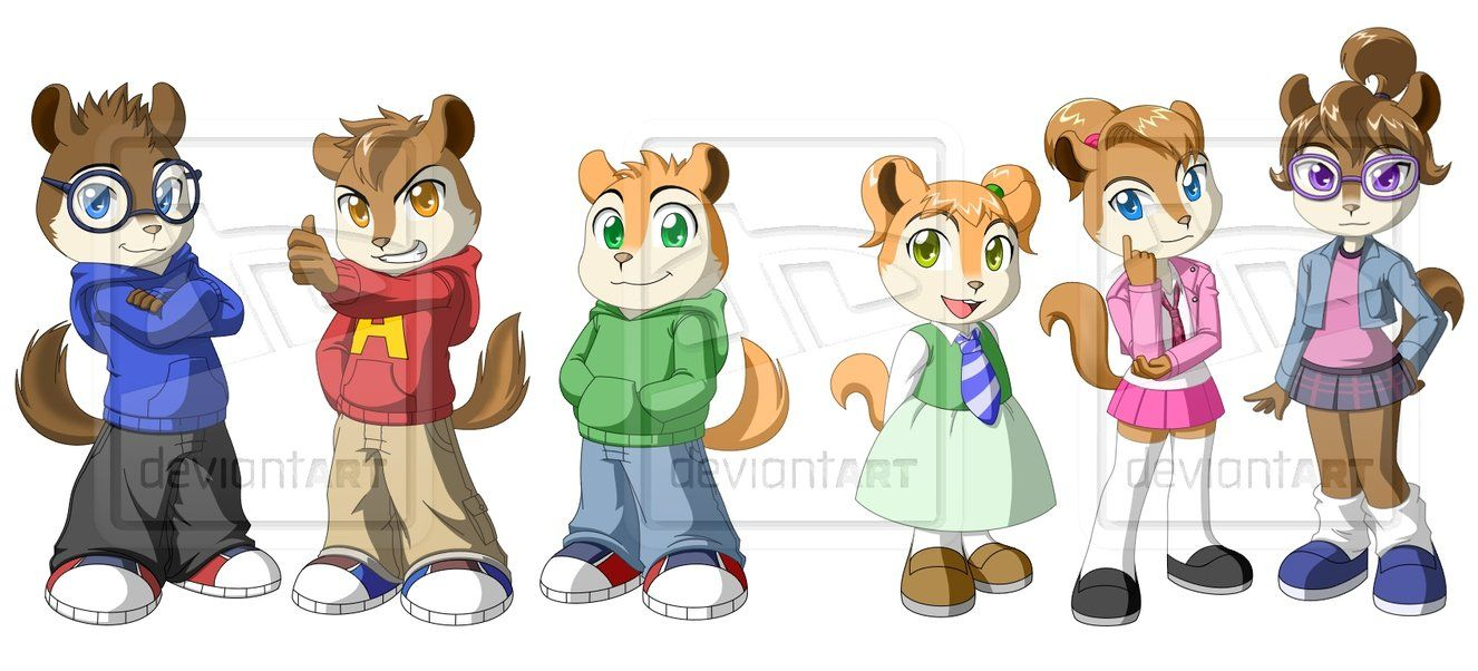 The Chipmunks and Chipettes by Pak009 | Alvin and the Chipmunks ...