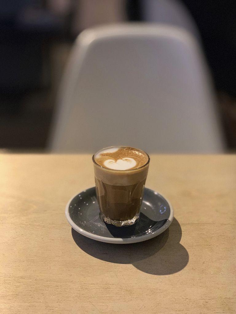 Ozone Coffee piccolo at Iris & June | Speciality coffee shop