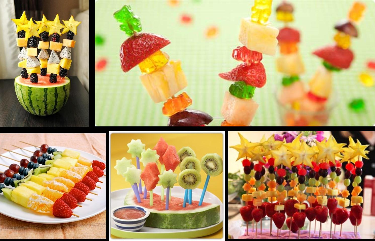Fruta Para Cumpleaños Food Art First Birthdays Food And Drink
