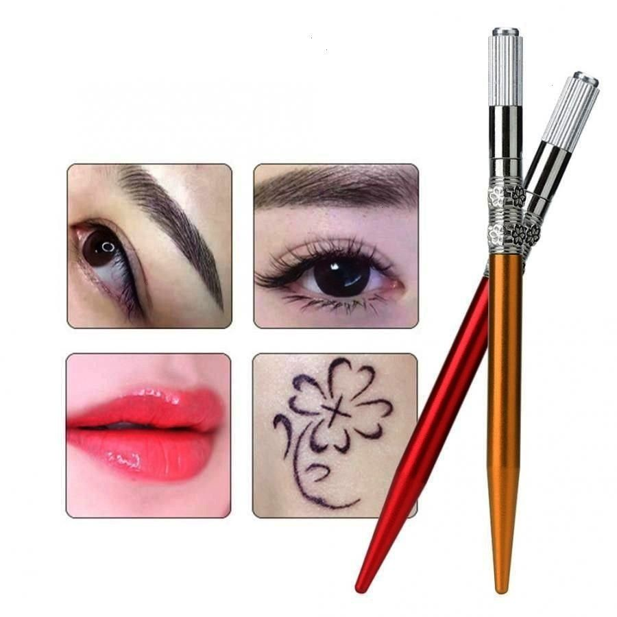 Eyeliner Lip Tattoo Microblading Pen Semi-permanent Makeup Tool E... -  Manual Eyebrow Eyeliner Lip