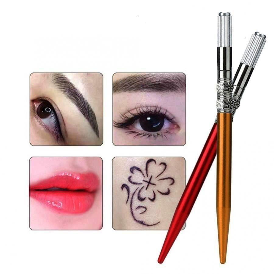 Eyeliner Lip Tattoo Microblading Pen Semi-permanent Makeup Tool E... - Manual Eyebrow Eyeliner Lip