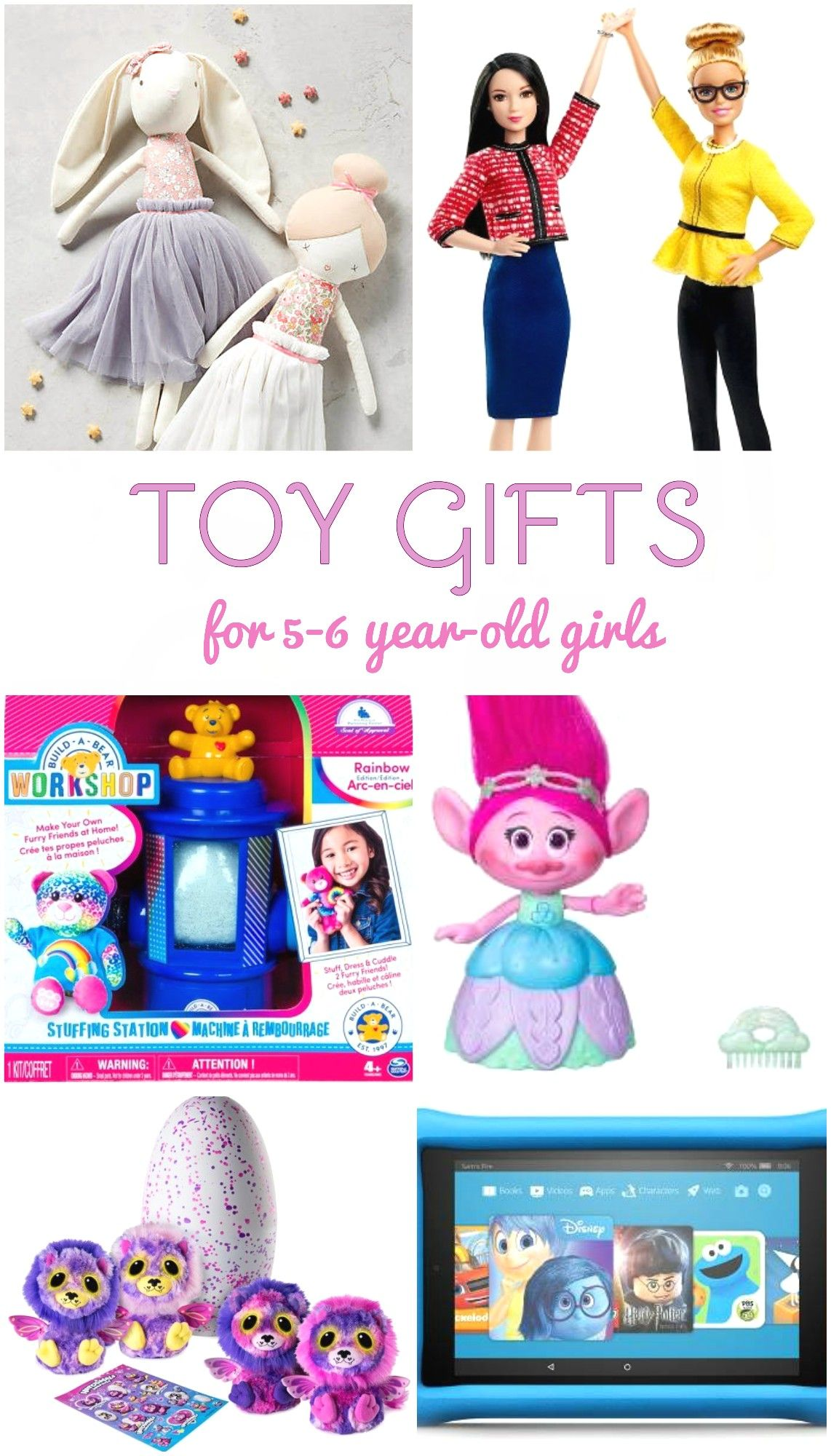 Gift Ideas For 5 To 6 Year Old Girls Top Christmas Gifts