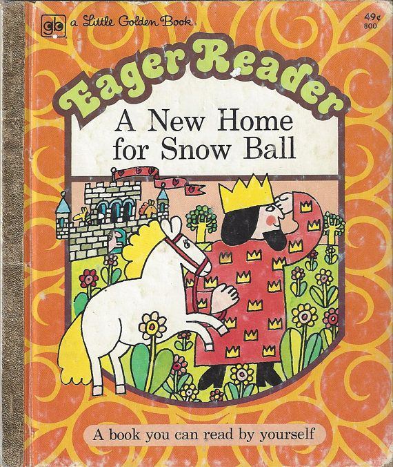 """Eager Reader """"A New Home for Snow Ball"""", Jan Pyk, C1975"""