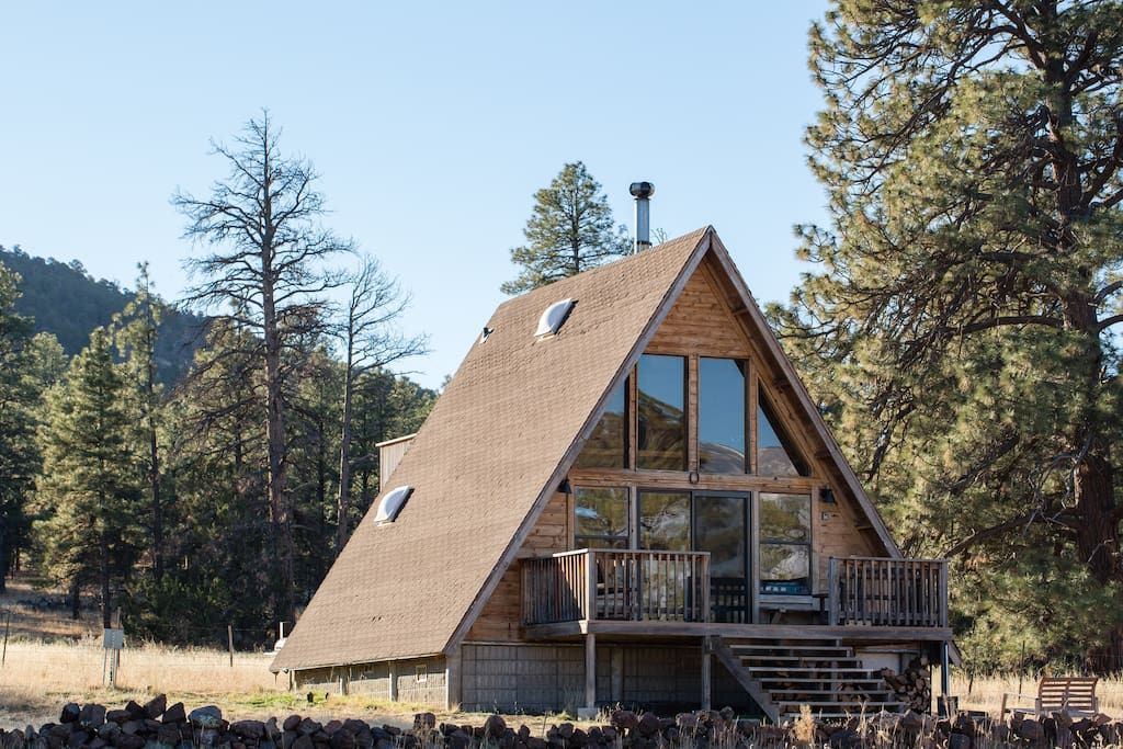 Superieur A Frame Mountain View Cabin In A National Forest   Cabins For Rent In  Flagstaff, Arizona, United States
