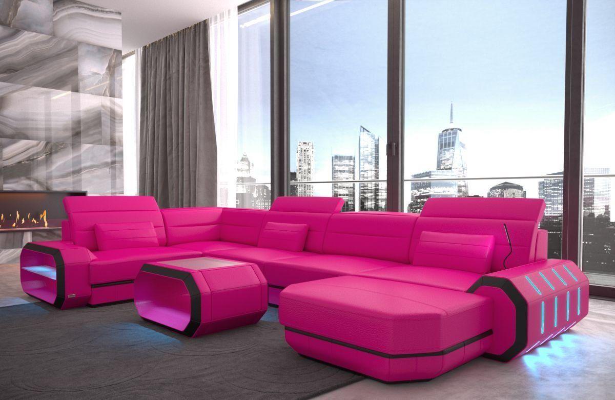 Wohnlandschaft Roma U Form In 2020 Ecksofas Sofa Design Und