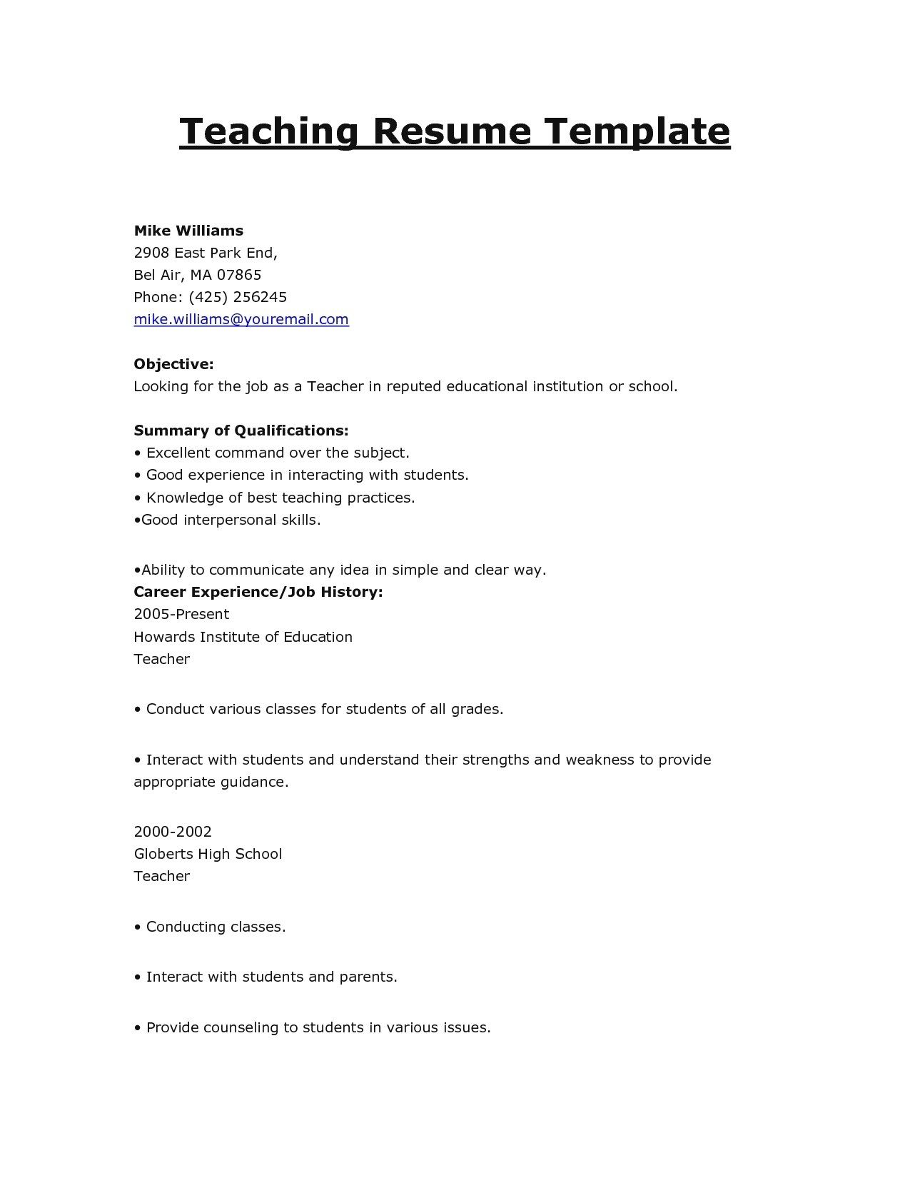 Free Resume Templates Online Resume Builder Online Free Download Skylogic Saves You Money And