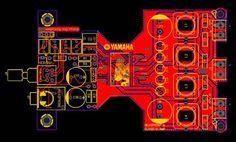 Class-D Amplifier Yamaha YDA138 #logicboard