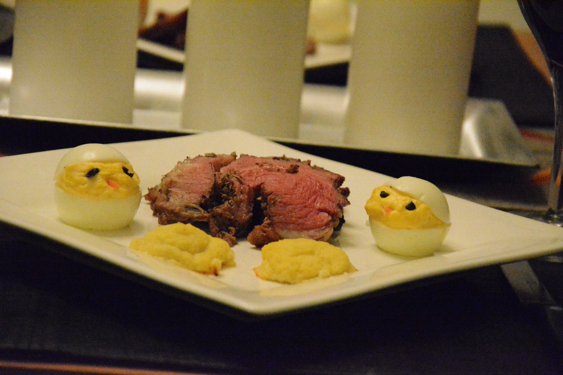 Roasted Leg of Lamb - Looking for a special meal? Roast a boneless leg of lamb and serve it with au jus! I served this for Easter and it was perfect!!