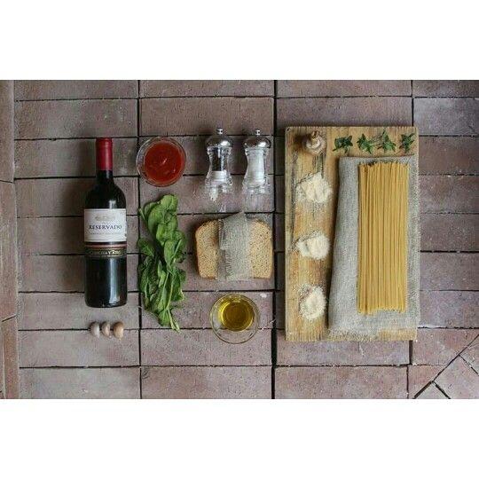 Mockup pasta #pasta #photo #bread #mockup