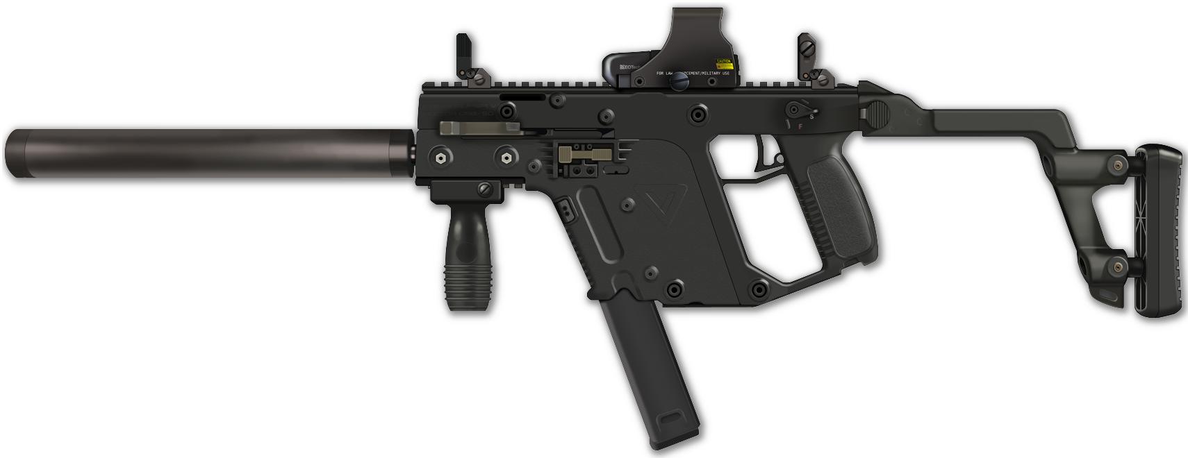 kriss vector submachine gun side view google search