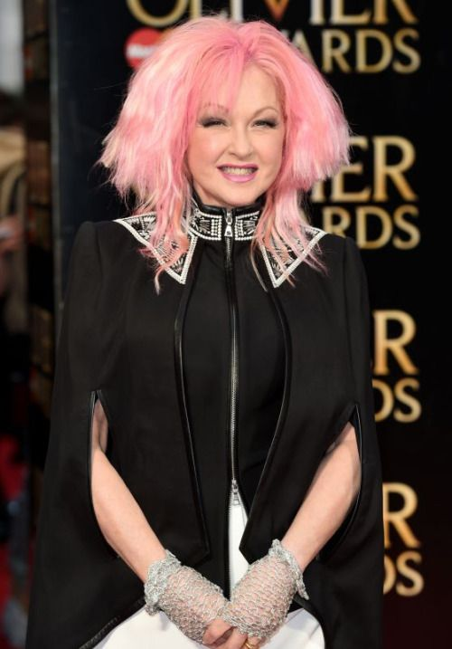 Cyndi Lauper – Olivier Awards 2016 at the Royal Opera House in ...