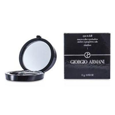 Giorgio Armani Eyes to Kill Solo Eyeshadow - # 01 Obsidian 1.5g/0.053oz Make Up