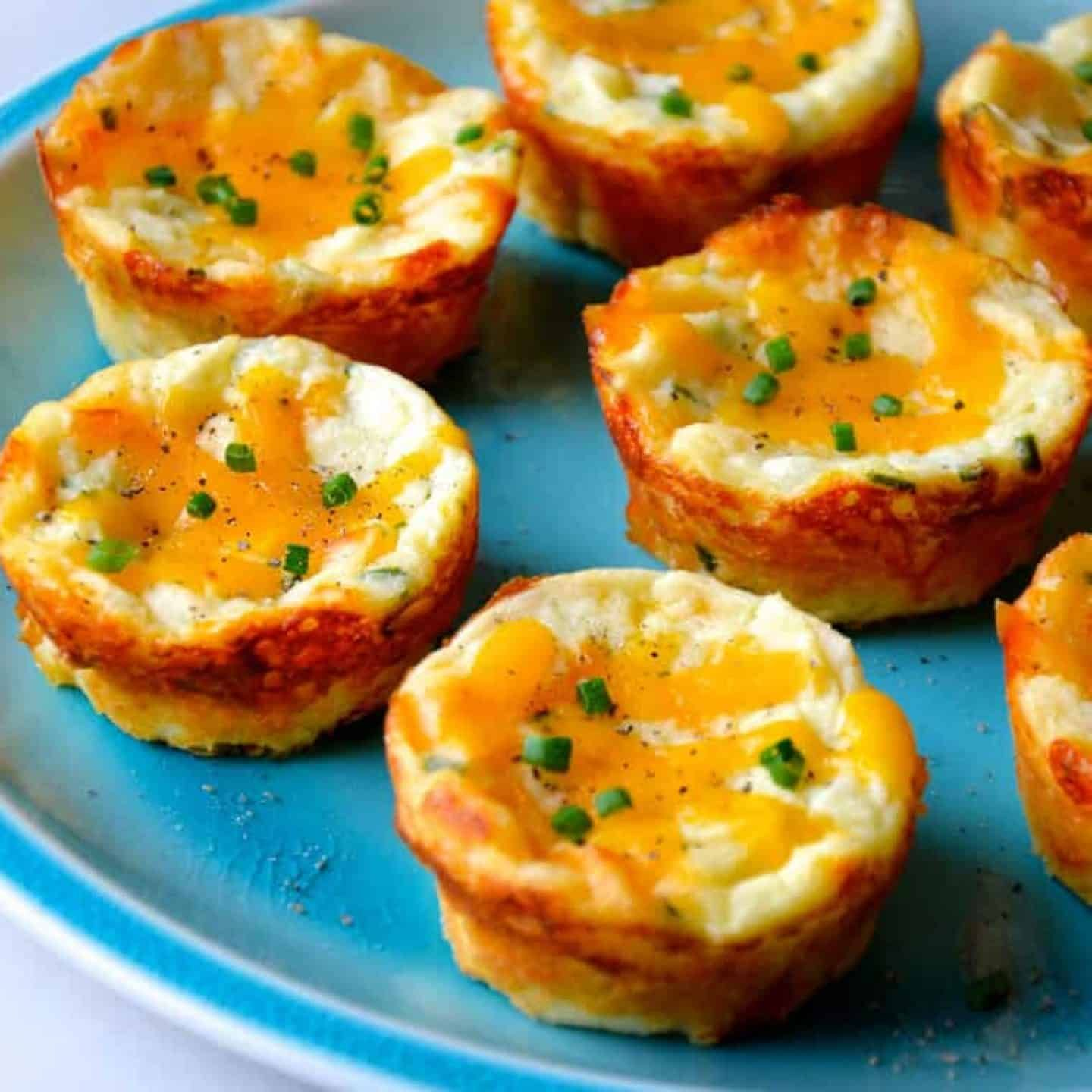 Cheesy Leftover Mashed Potato Muffins Potatopancakesfrommashedpotatoes Cheesy Leftover Mashed Potato Muffins Recipe From Justataste Com