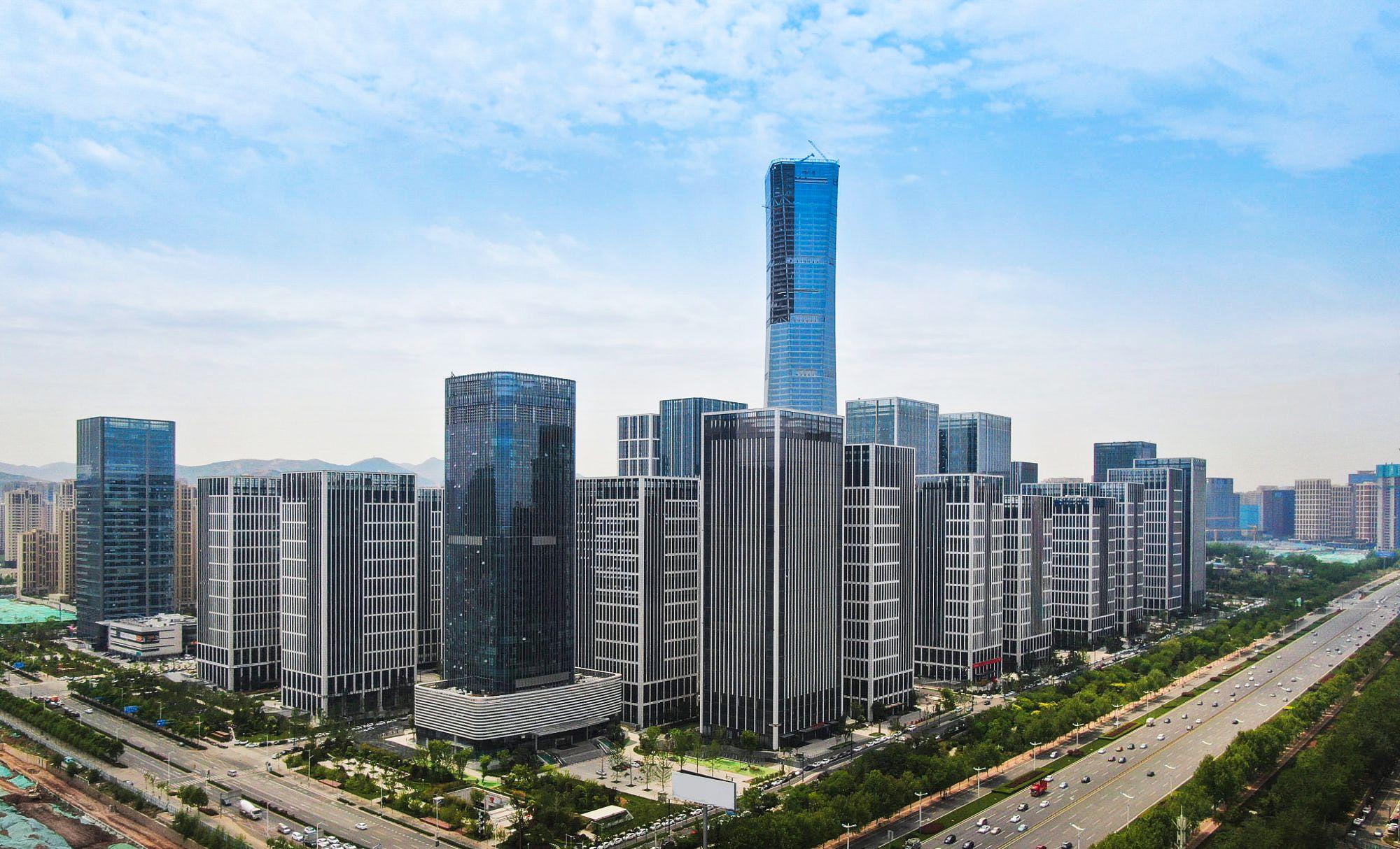 Jinan 济南 Jinan City Capital Of Shandong Province Northern China Jinan Skyline World Photo