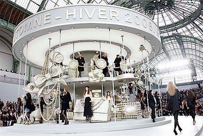 French fashion show designed by Villa Eugenie