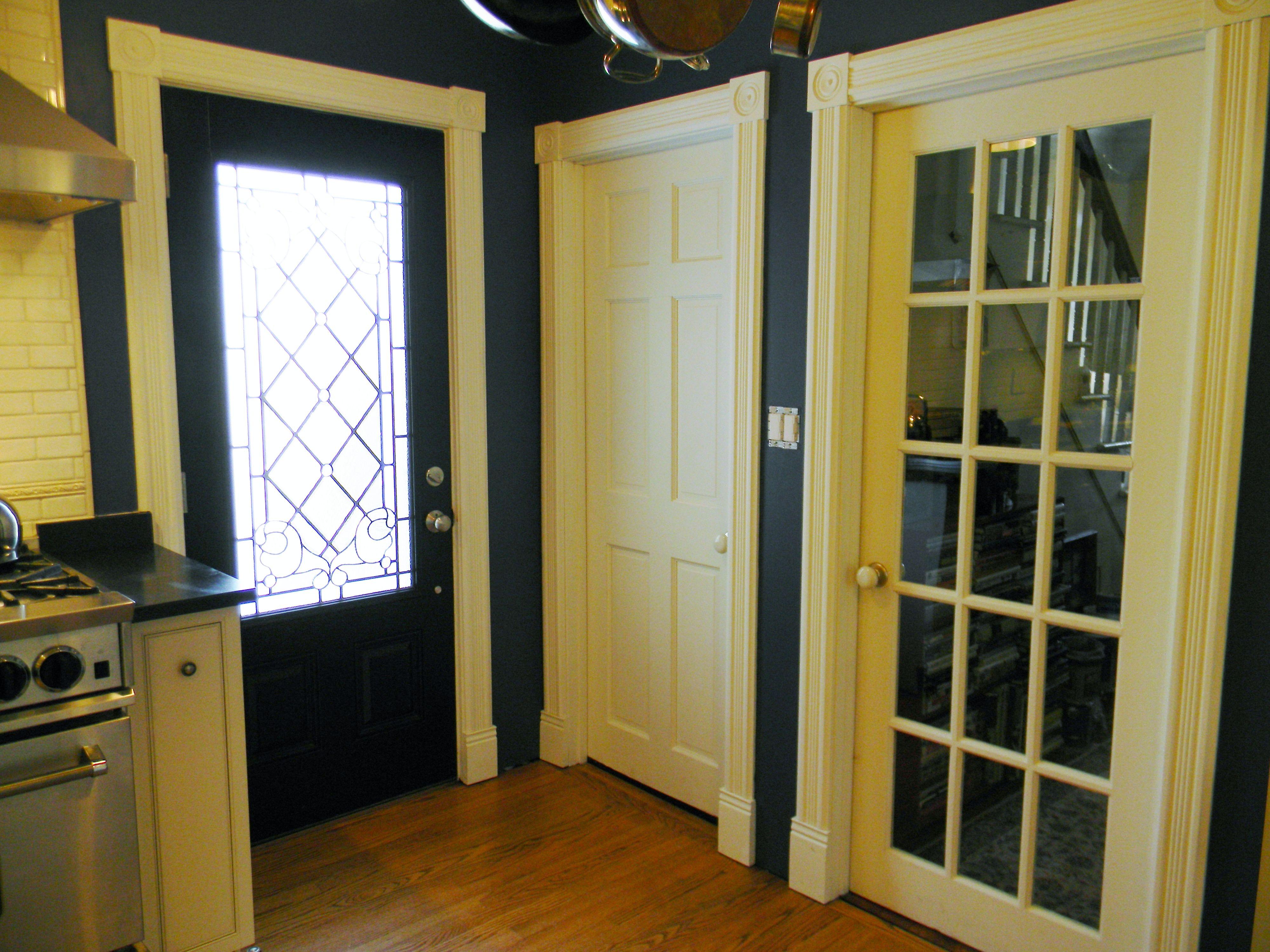 Victorian Exterior 6 Panel Basement Amp French Hall Doors
