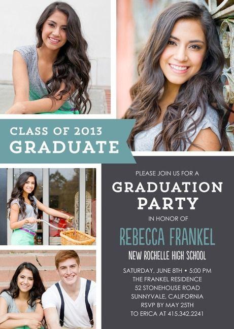 Graduation invites graduationd pinterest grad parties graduation invites filmwisefo