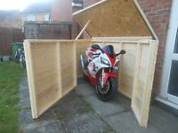 Asgard Motorbike 5ft x 9ft Metal Garage | Motorcycle garage and Storage & Asgard Motorbike 5ft x 9ft Metal Garage | Motorcycle garage and ...