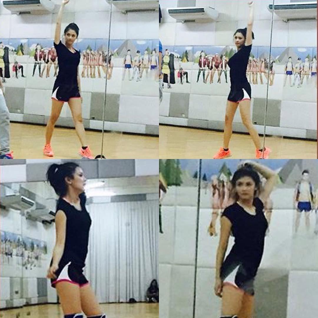 """Dance rehearsal for her FUNtasy concert on April 9!❤️ Go Go Go Kimmy!!! #kimchiu #ChinitaPrincessTheFUNtasyConcert #April9 #KiaTheater #kimxi #CTO…"""