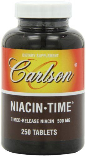 Carlson Niacintime 500mg 250 Tablets -- You can get additional details at the affiliate link Amazon.com.