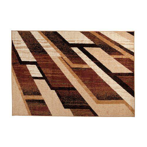 Teppich Taurean in Braun 17 Stories Teppichgröße: Rechteck: 140 x 200 cm