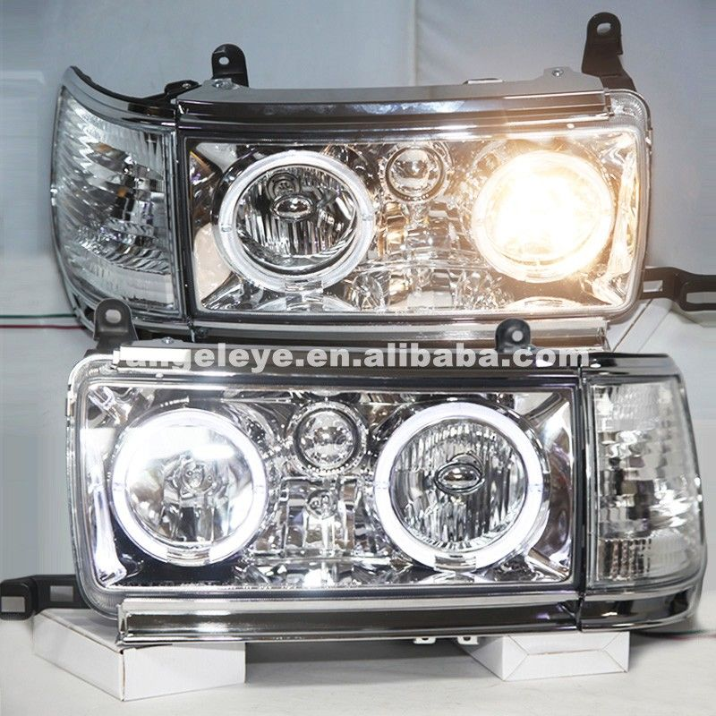 Headlights For Toyota Land Cruiser Lc80 Fj80 Prado 4500 1990 1997