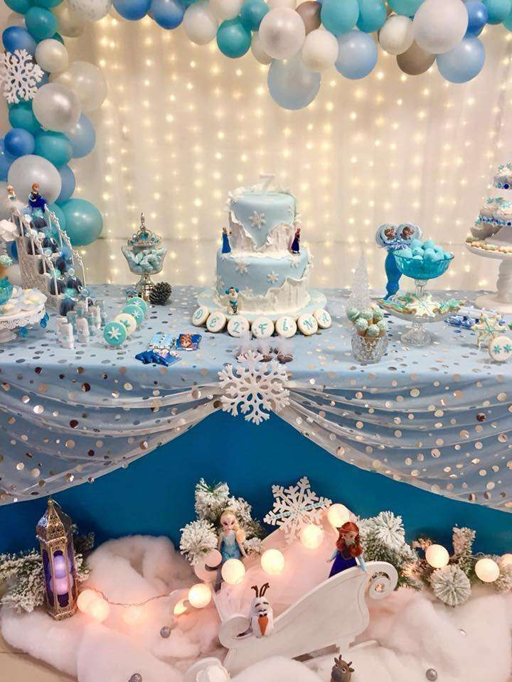 Frozen (Disney) Birthday Party Ideas | Photo 1 of 14 | Catch My Party
