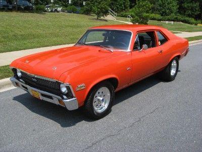 1971 Chevy Nova Vintage Muscle Cars Chevrolet Nova Chevy Nova