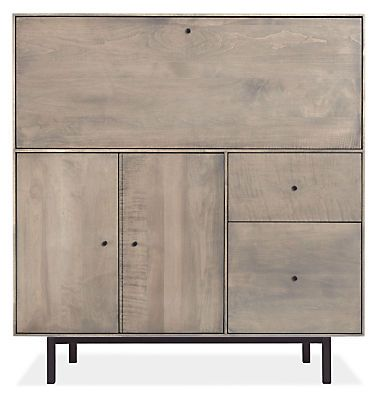 Superbe Hudson Office Armoire With Steel Base | Modern Office Furniture, Armoires  And Office Furniture