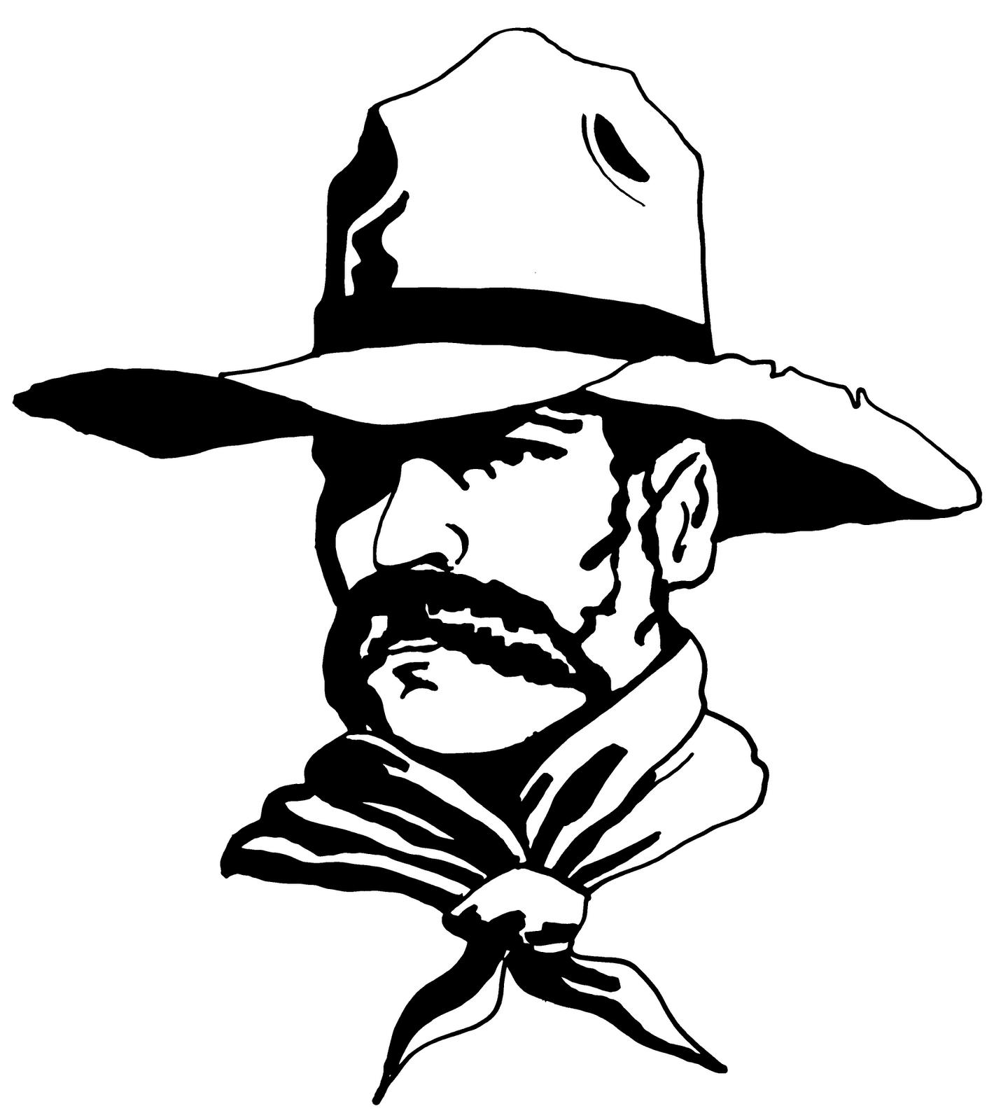 Western Movie Stills Clipart Black And White Western Clip Art Black And White Abstract