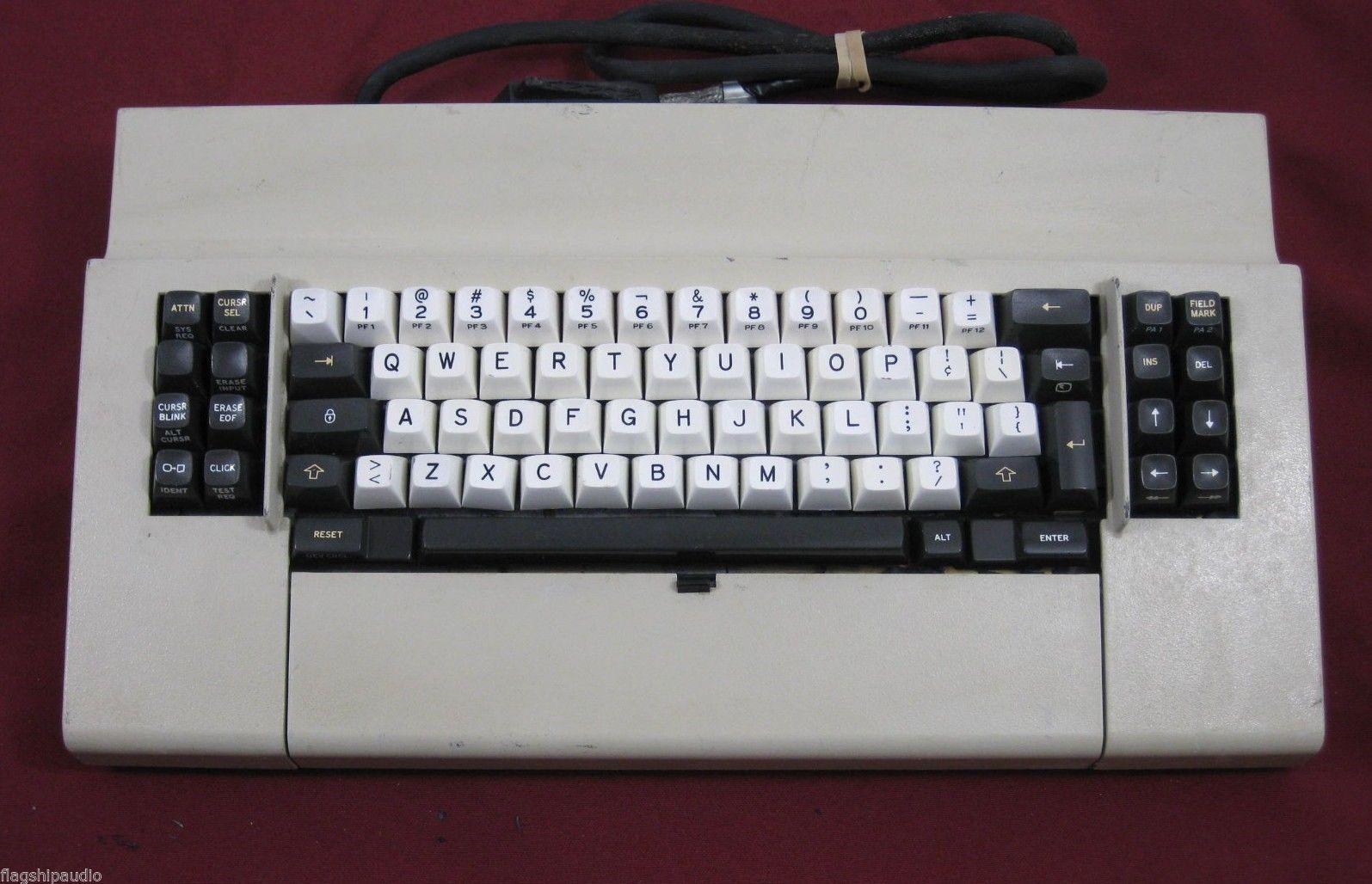 Rare Vintage 1977 Ibm 3278 Beam Spring Computer Clicky Keyboard Computer Keyboard Ibm