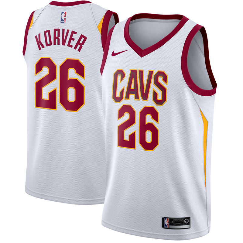 3a9358112d1 ... shop kyle korver cleveland cavaliers nike swingman jersey white  association edition f1831 19cd0