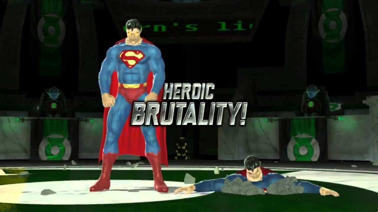 mortal kombat vs dc universe  heroic brutality