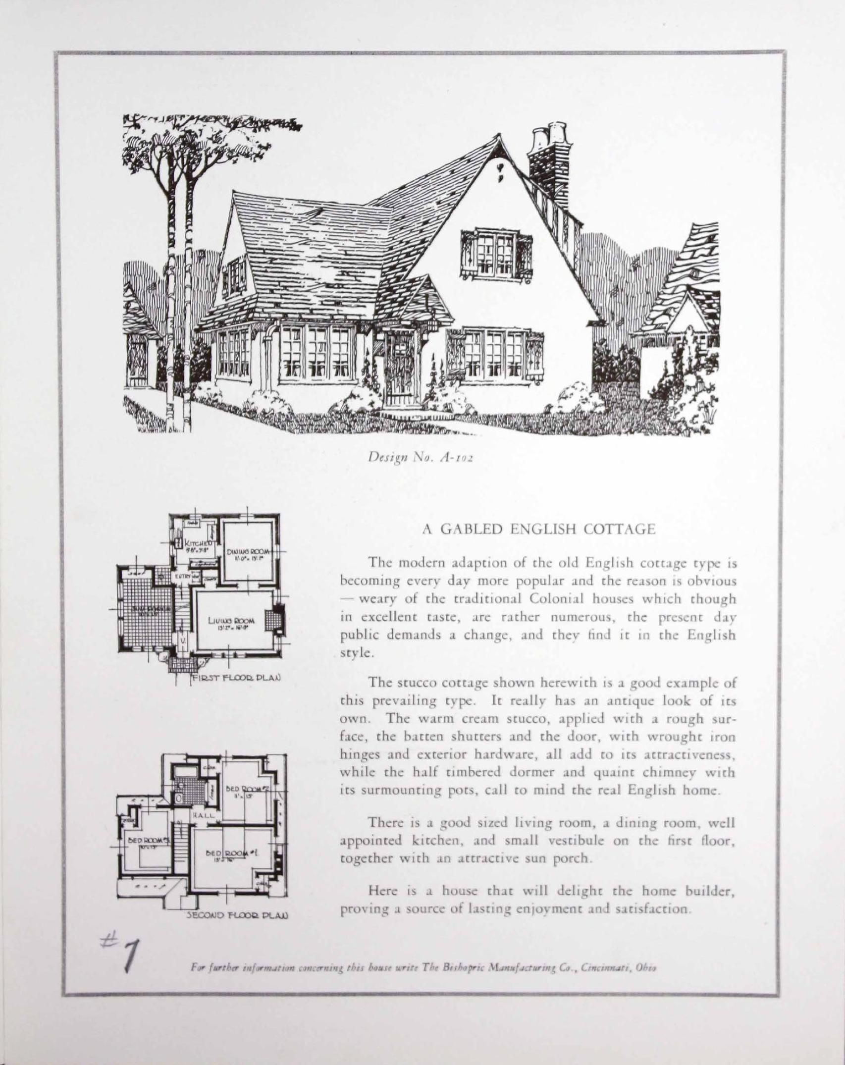 House plans Bishopric for all time and clime Floorplan