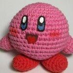 Muñeco Kirby amigurumis