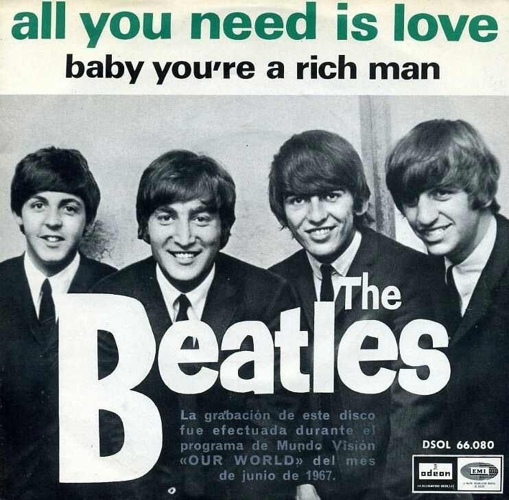 The Beatles All You Need Is Love The Beatles Beatles Album