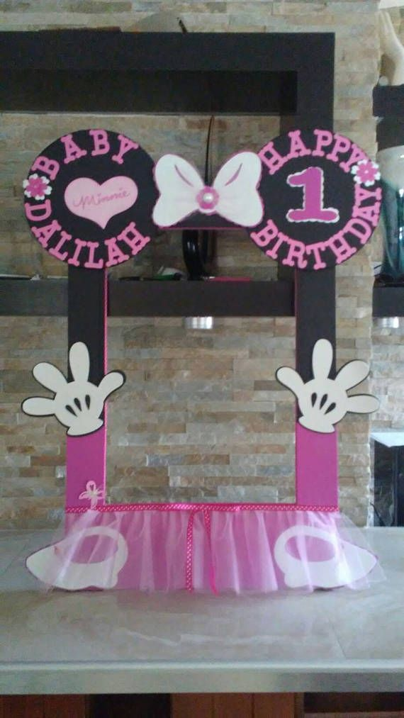 Minnie Mouse Photo Booth Frame | Pinterest | Espuma eva, Minnie ...