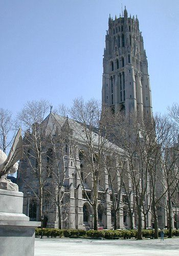 Riverside Church Is One Of The Most Famous Churches In