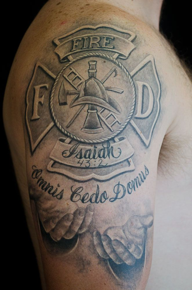 Pin By April Cowdin On Ink Fire Fighter Tattoos Fire Tattoo Firefighter Tattoo