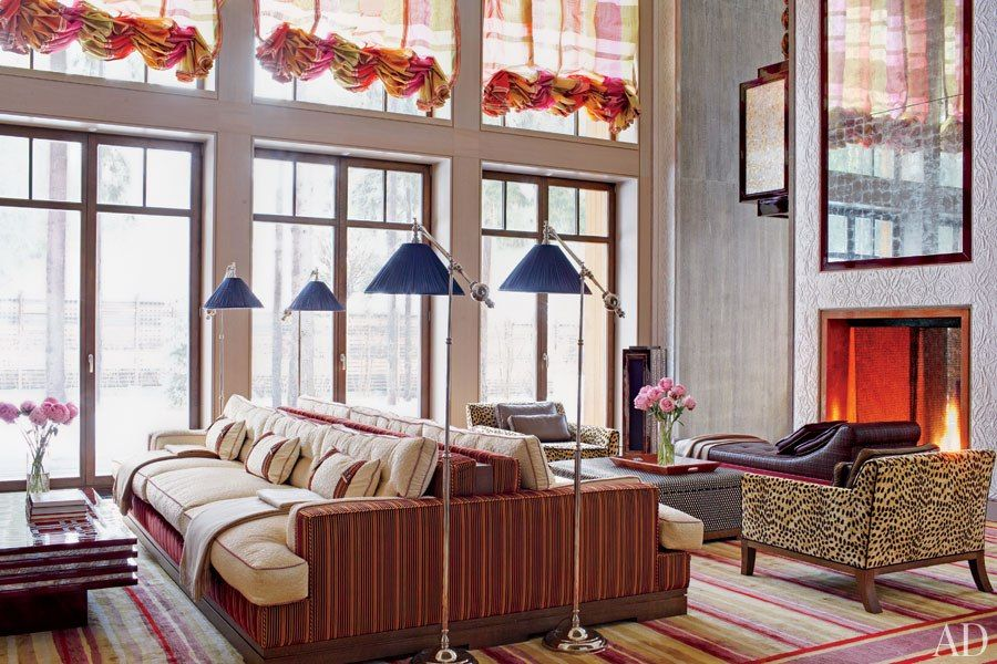 Gabhan O Keeffe Designs An Exuberant Russian Dacha With Images
