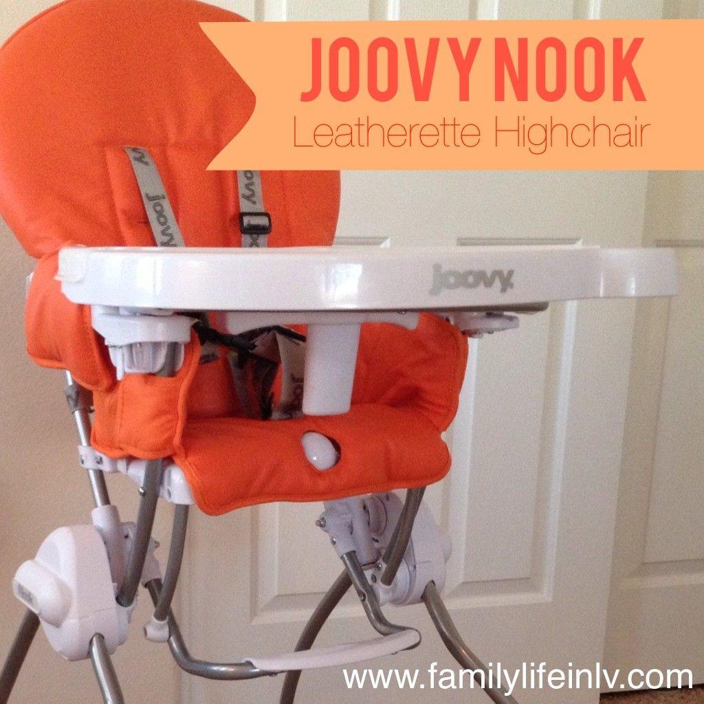 Joovy® Nook High Chair in Orangie Leatherette