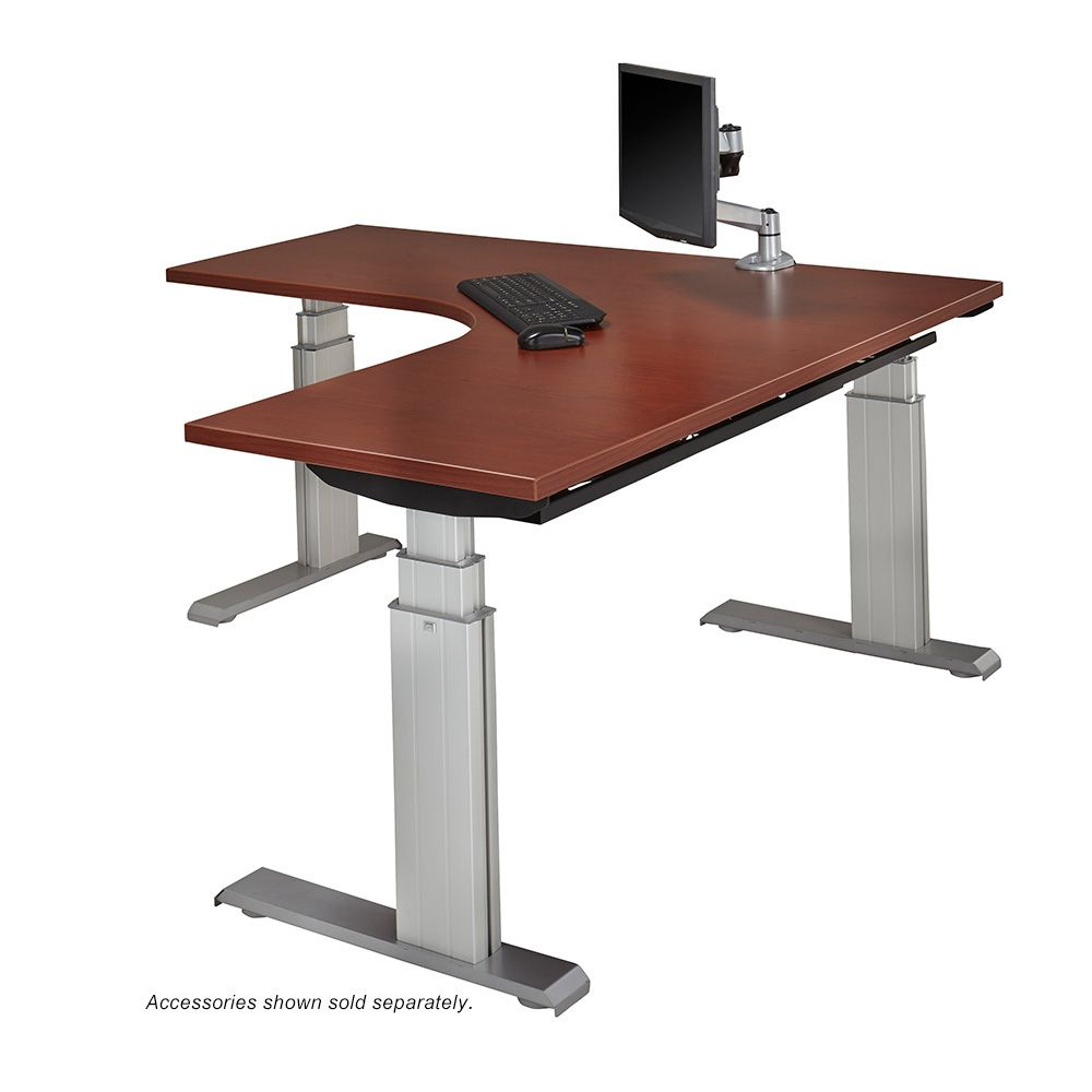 Newheights elegante xt sit stand l workstation by Motorized table