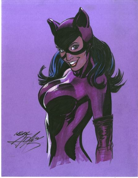 Catwoman by neal adams the batman c mics c mic y gatubela - Catwoman dessin ...