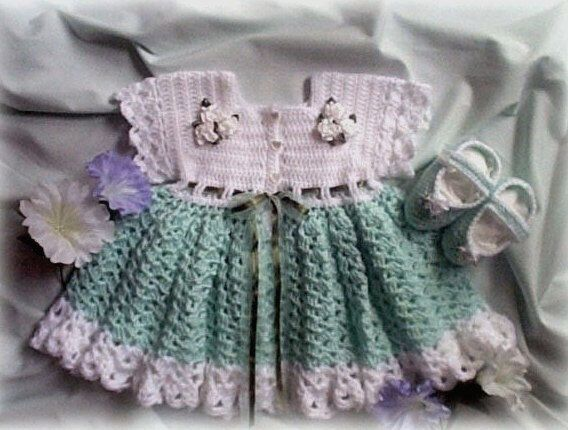 Easy Crochet Baby Dress Patterns Dress Up Your Pretty Little