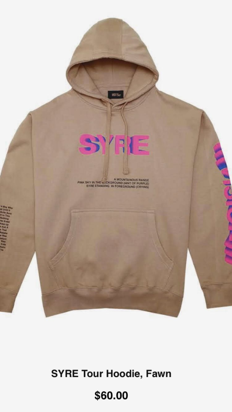 c62d524a343d SYRE HOODIE JADEN SMITH Golf Hoodie, Hoodie Outfit, Hoodie Jacket, Teen Boy  Fashion