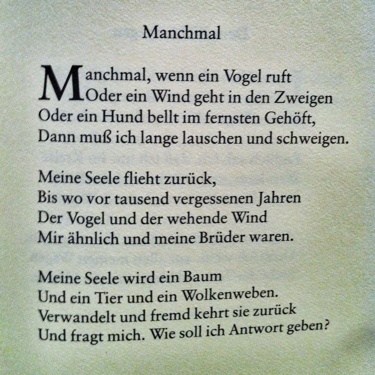 Hermann Hesse Hermann Hesse Gedichte Zitate Und Lyrik