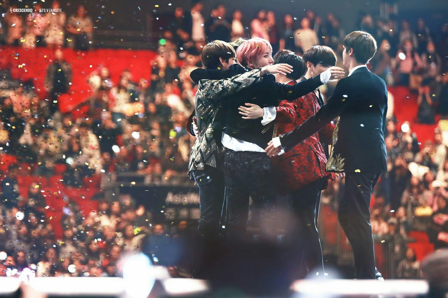 """•161202 BTS @ MAMA 2016 