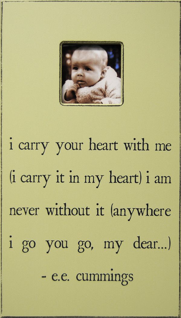 I Carry Your Heart Antiqued Picture Frame | memes | Pinterest ...
