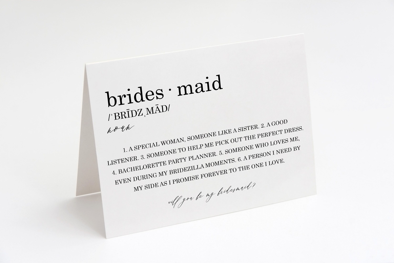Best Man Proposal Card Personalised Bridal Party Cards Bridal Party Botanical Wedding Bridal Party Gifts Botanical Bridesmaid Card