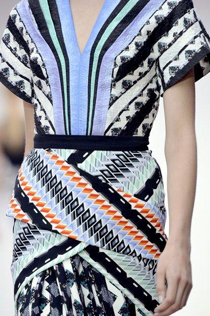 Peter Pilloto designs dazzling optical patterns